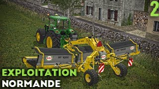 Farming Simulator 17 - Exploitation Normande - Patates et Andainage ! (#2)