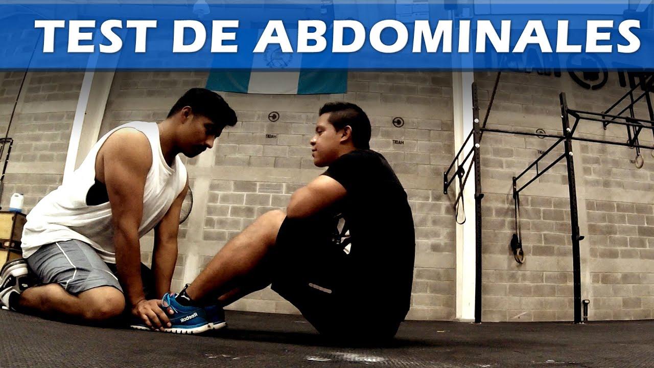 Pruebas fisicas tutorial test de abdominales youtube for Abdominales