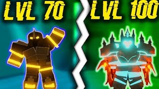 CARRYING HIGHER LEVEL PROS IN DUNGEON! (ROBLOX DUNGEON QUEST)