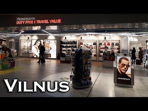 Duty Free в аэропорту Вильнюса. Цены и ассортимент в 2018 году в дьютике Вильнюса.
