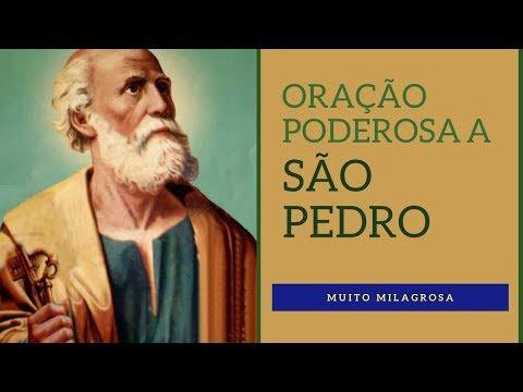 Oração Poderosa a São Pedro