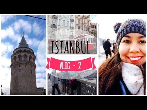 Around Galata Tower & crossing to European side | Istanbul, Turkey VLOG