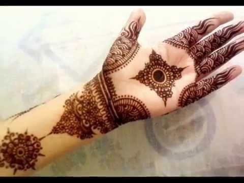 Latest Pakistani Eid Mehndi Designs 2016-2017 - YouTube