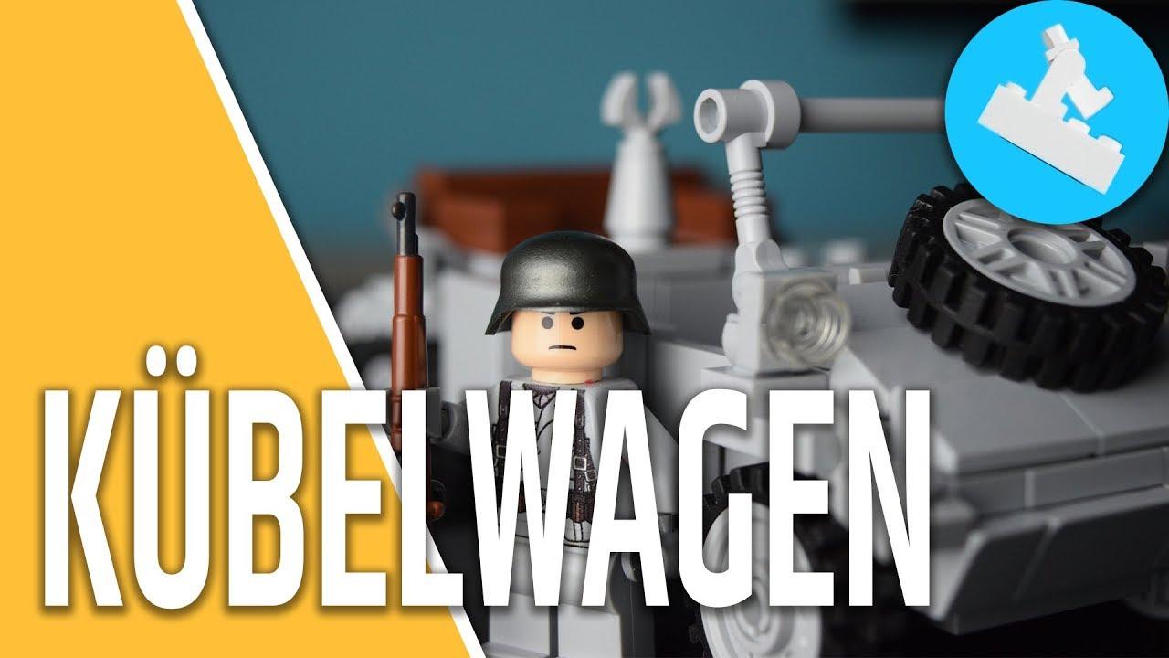 LEGO Custom Kübelwagen by E&R´s Bricksstuff // Review - YouTube