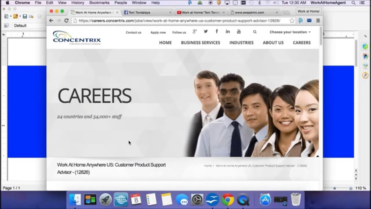 Work at home with Concentrix Toni can HELP you GET HIRED!! 2016