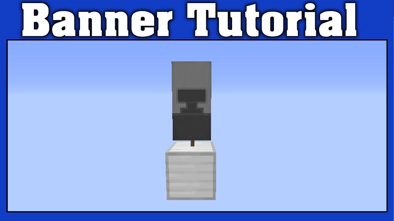 Minecraft Anvil Banner Tutorial - YouTube