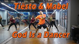 Tiësto, Mabel - God Is A Dancer | Dance Fitness By Golfy | คลาสเต้นออกกำลังกาย Video