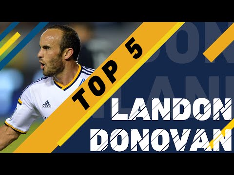Landon Donovan Top 5 Goals in MLS