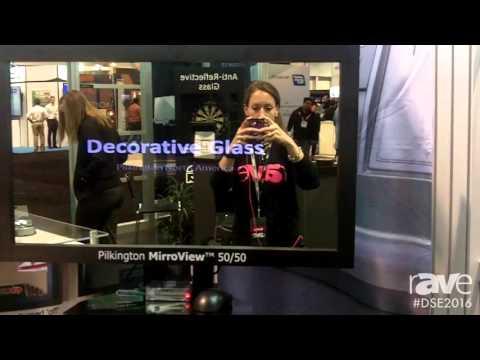 DSE 2016: Pilkington Features MirroView 50:50 Semi-Transparent Mirror