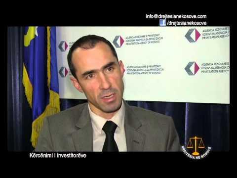 Emision: Drejtësia në Kosovë - Kërcënimi i investitorëve