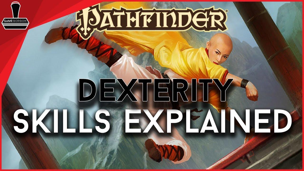 Pathfinder 2E, Dexterity Skills Explained   GameGorgon