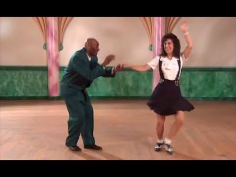 Lindy Hop Swingout with Swivels Lesson with Frankie Manning and Erin Stevens