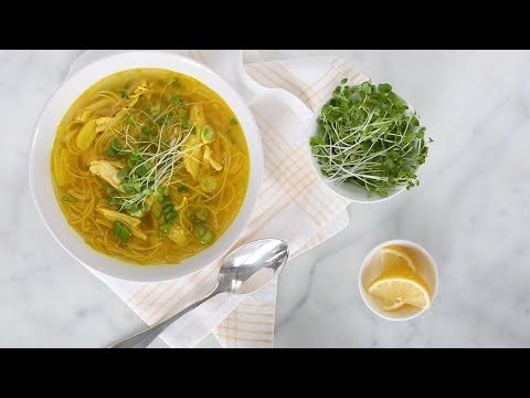 Ginger-Spice Chicken SoupEveryday Food with Sarah Carey
