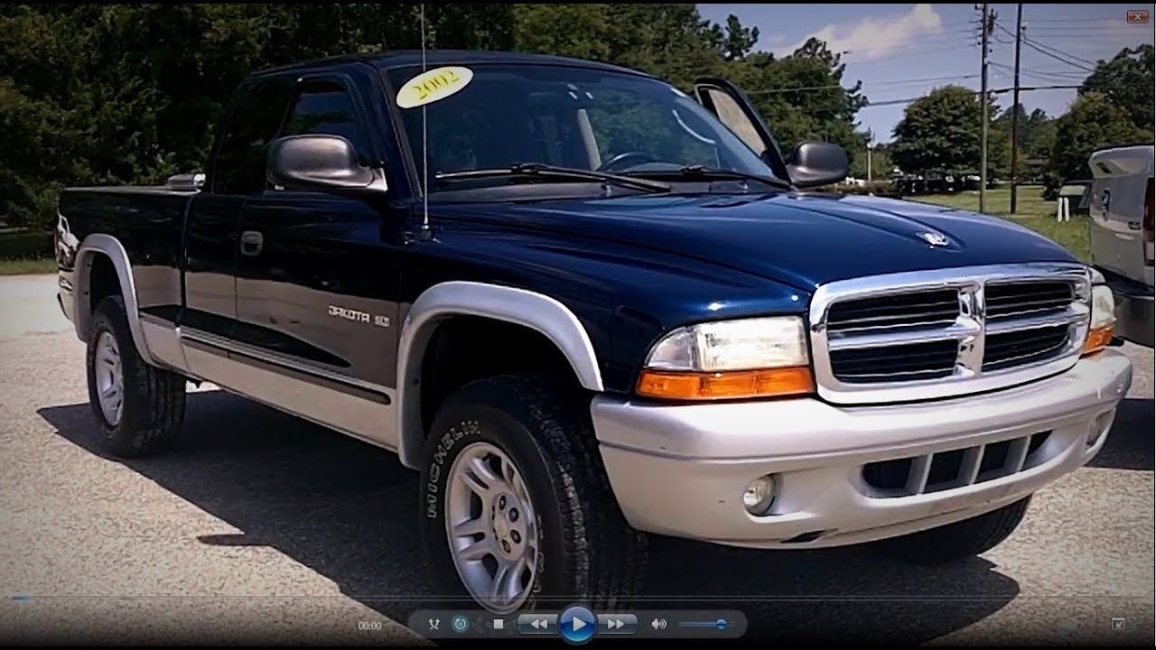 2002 Dodge Dakota Slt Club Cab Youtube
