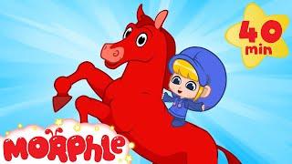 Morphle The Magic Racehorse - My Magic Pet Morphle   Cartoons For Kids   Morphle TV   BRAND NEW