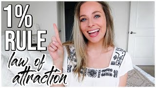 1% Rule : MANIFEST NOW | Law of Attraction | Renee Amberg