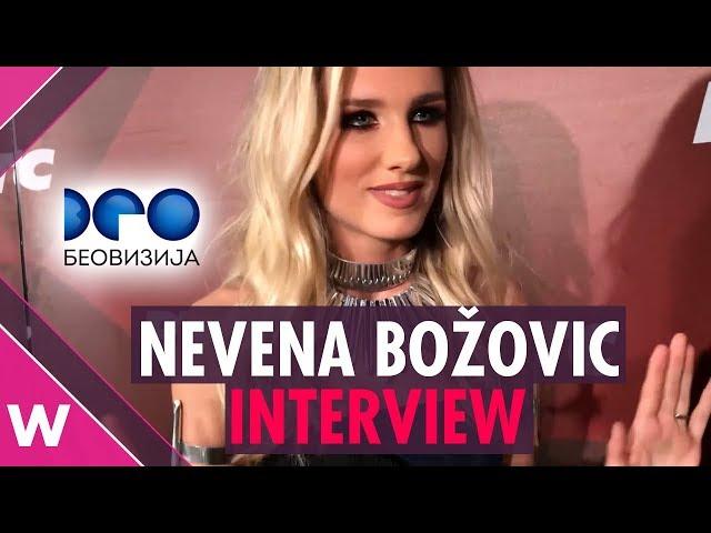 "Nevena Božović – ""Kruna"" INTERVIEW @ Beovizija 2019 | wiwibloggs"