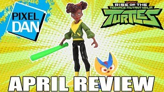 April Rise of the TMNT Ninja Turtles Action Figure Video Review