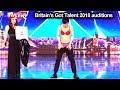 Sora from Japan Underwear Magician Auditions Britain's Got Talent 2018 BGT S12E06