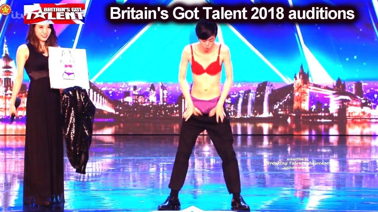 Download Sora from Japan Underwear Magician Auditions Britain's Got Talent 2018 BGT S12E06