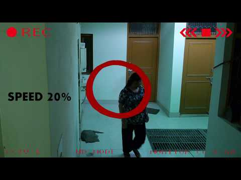 Hostel Girl Badly Pushed By Ghost | Real Ghost Incident CCTV Caught ghost