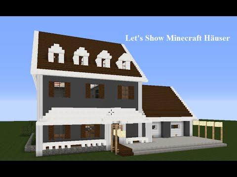 Minecraft Haus Vorstellung YouTube - Minecraft moderne hauser lekoopa