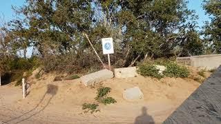 #АНАПА. Шторм стих - Парковка на пешеходной зоне на пляже 7.00 утра 17.09.2018 #ВИТЯЗЕВО #ДЖЕМЕТЕ