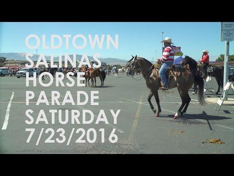 California Rodeo Salinas, Horse Parade Saturday 2016