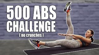 500 Abs on Fire🔥 Challenge (No Crunches) | Joanna Soh