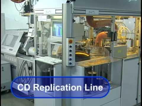 CD Replication Line: Making A CD