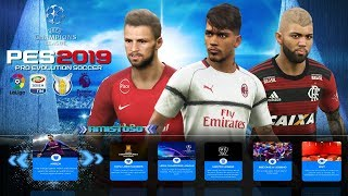 PES 2019 PPSSPP LITE 200 MB CAMERA PS4 NARRAÇÃO CLÉBER MACHADO