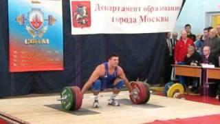 Берестов Дима-рывок 195 кг