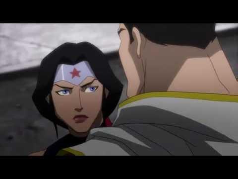 justice league vs DARKSEID full fight