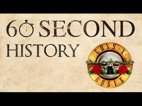 60 Second History: Guns N' Roses