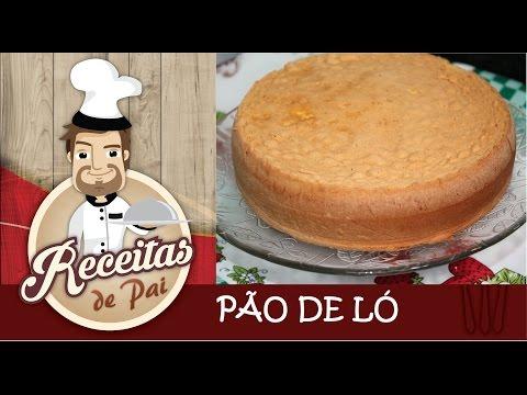PÃO DE LÓ MAIS FÁCIL DO MUNDO #6 Receitas de Pai