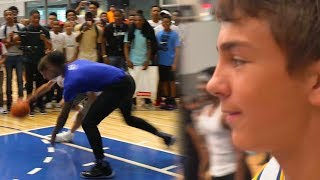 KID BREAKS FLIGHT ANKLE & TALK TRASH?! 2 VS 2 IRL Basketball FT. Prettyboyfredo & Flightreacts