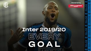 EVERY GOAL! | INTER 2019/20 | Lukaku, Lautaro, Sanchez, Eriksen, Young, Barella and more... ⚽⚫🔵😮