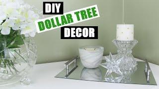 DOLLAR TREE DIY Room Decor | Dollar Store DIY Mirror Vanity Tray | DIY Mirror Perfume Tray