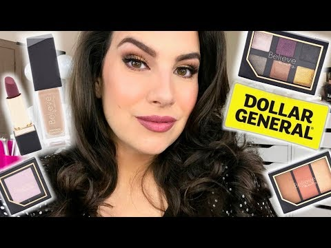 NOTHING OVER $5... Dollar General's Exclusive Line: Believe Beauty