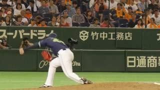 2016年7月30日 読売ジャイアンツvs東京ヤクルトスワローズ 東京ドーム.