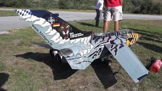 Tornado ECR RC Jet turbine powerd with a fantastic sound