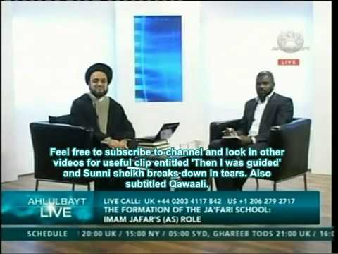 Ahlul Bayt tv - VERY ANGRY SUNNI brother :) questions a Shia Shayk smiling syed what is islam?kafir