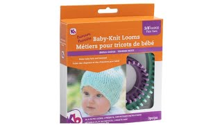 KB Looms Baby-Knit 2 Pc Loom Set Unboxing