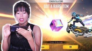 I am So Lucky! 💎 NEW Diamond Royale - CRAZY DJ & MAGIC CUBE? - Garena Free Fire