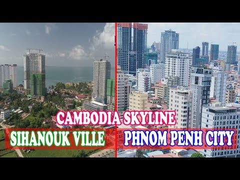Cambodia Skyline, Top Under Construction Skyline in Phnom Penh and Sihanouk Ville