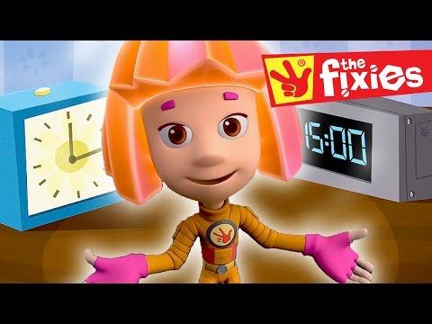 Kids Show ★ The Clocks - The Fire Extinguisher ★ Fixies 2016   Cartoon For Kids