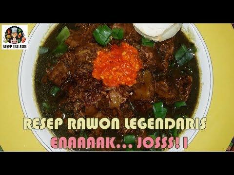 RESEP RAWON ALA IBU ASIH   RAWON RECIPE INDONESIAN FOOD