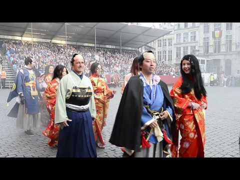 Japan, country of honor at the Ommegang 2016