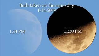 Sun and Moon Phase Angles don't workout, flat earth