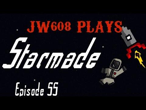 JW608 Plays Starmade Ep 55 Fleet Mining Test